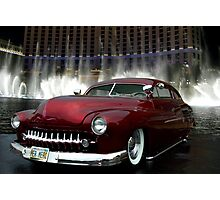 """Her Merc"" 1950 Mercury Low Rider Photographic Print"