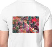 Hendrix fender ad. Unisex T-Shirt