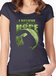 I Believe In Hope Women's Fitted Scoop T-Shirt