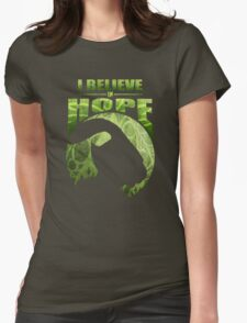 I Believe In Hope Womens Fitted T-Shirt