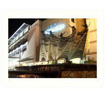 Plaza Indonesia (by night) Art Print