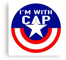 I'm With CAP Canvas Print