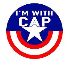 I'm With CAP Photographic Print