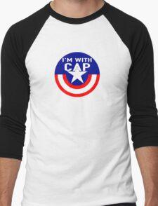 I'm With CAP Men's Baseball ¾ T-Shirt