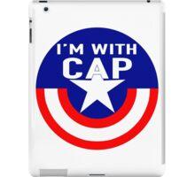 I'm With CAP iPad Case/Skin
