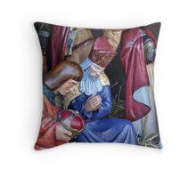 Frankincense, Gold and Myrrh Throw Pillow