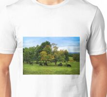 Country scene in New England Unisex T-Shirt