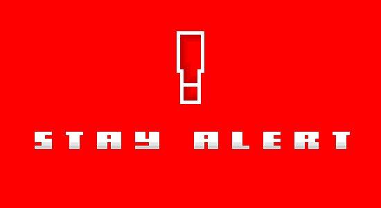 """""""Stay Alert"""" - Metal Gear Solid by PixelBlock"""
