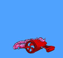 Earthworm Jim's Dream by krhuntley