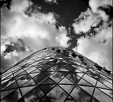 The Gherkin London by Ward McNeill
