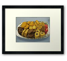 That's the way the cookie crumbles! Framed Print
