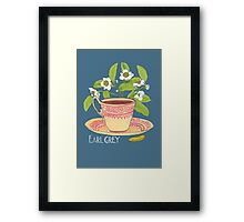 Earl Grey tea Framed Print