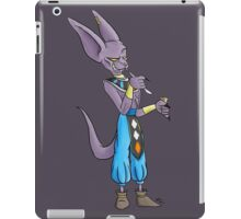 The Swag Cat with a Pudding Cup iPad Case/Skin
