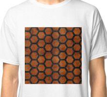 HXG2 BK MARBLE BURL (R) Classic T-Shirt