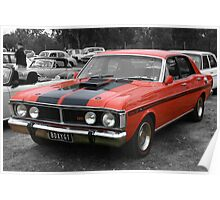 Ford Falcon XY GT Poster