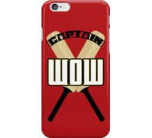 Cap'n WOW iPhone Case/Skin