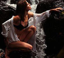 Anna at Eureka Waterfalls, Mauritius by JennyRainbow