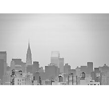 New York City - Looking Sketchy Photographic Print