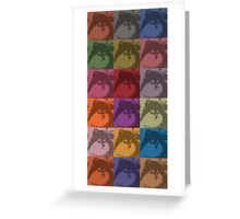 Max - Prince of the Pomeranians Greeting Card