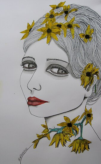 daisy chain by Lisa Murphy