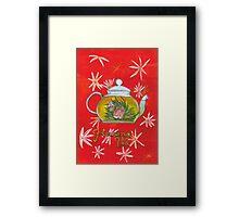 Flowing tea Framed Print