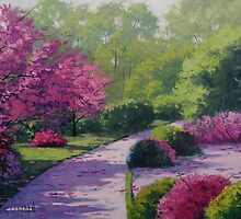 Path into the Park by Graham Gercken