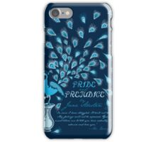 Paisley Peacock Pride and Prejudice: Classic iPhone Case/Skin