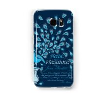Paisley Peacock Pride and Prejudice: Classic Samsung Galaxy Case/Skin