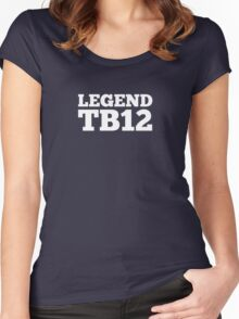 Legend TB12 Women's Fitted Scoop T-Shirt