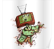 Television Zombie Poster