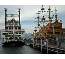 The outstanding pirates ships,hakone Photographic Print