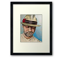 Gord Downie Framed Print
