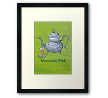 Moroccan Mint Framed Print
