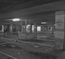 Loneliness of closed shopping centre by Shelley Milbank