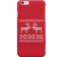 Reindeer Christmas Jumper iPhone Case/Skin