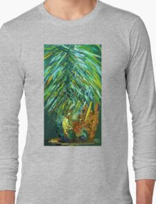 Poppin' Pineapple Long Sleeve T-Shirt