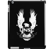 UNSC Logo White iPad Case/Skin