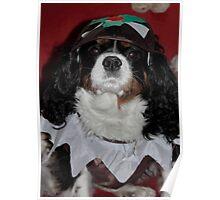 Charlie the Christmas Pudding Poster