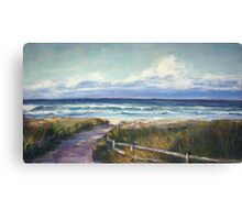 North Boomerang Beach Canvas Print