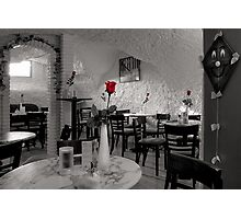 Old Town Cafe Photographic Print
