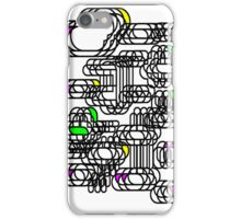 Electronic Clouds # 2 iPhone Case/Skin