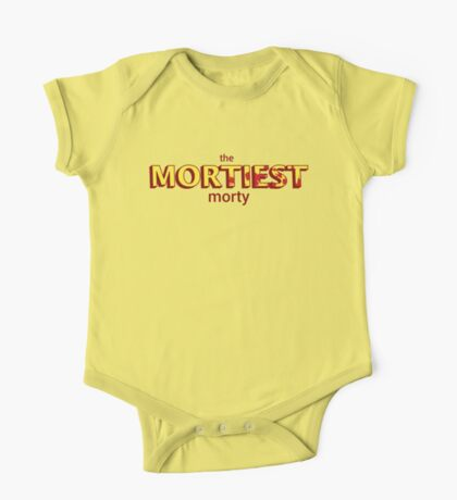 The Mortiest Morty One Piece - Short Sleeve