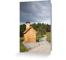 The little chapel Greeting Card