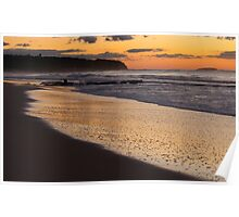 Caves Beach NSW Poster