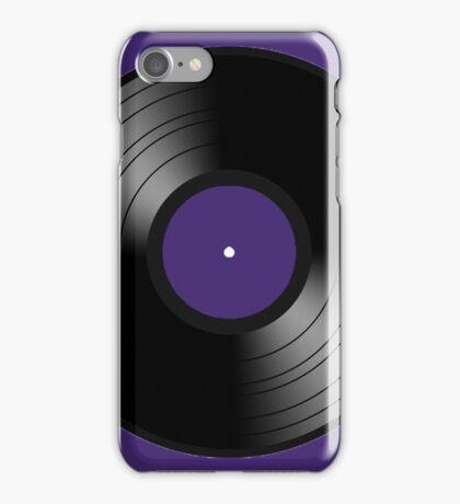 record  iPhone Case/Skin