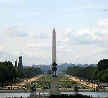 Washington DC, Down the National Mall by Domruff1