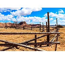Old Corral Ghost Ranch Photographic Print