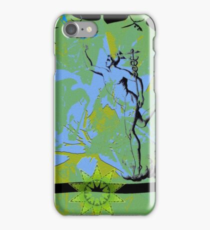 Mercury on the golden mean. iPhone Case/Skin