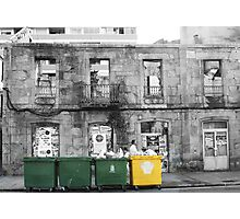 Bins in Spain Photographic Print