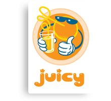 Juicy Orange! Canvas Print